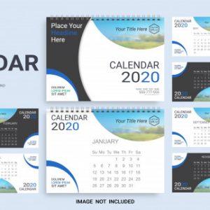 Startup 2020 Desk Calendar