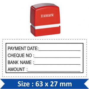 Exmark Rectangle / Square Stamp