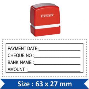 Exmark Rectangle / Square Stamp