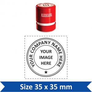 Exmark Round Stamp