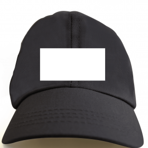 Black Color Custom Cap