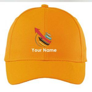 Yellow Color Custom Caps