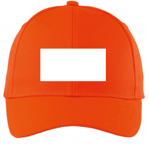 Orange Customized Cap