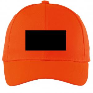 Orange Customized Cap