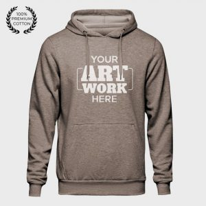Dark Grey Stylish Custom Hoodie