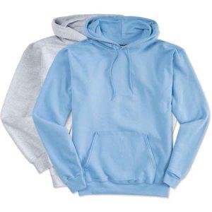 Blue Custom Hoodies