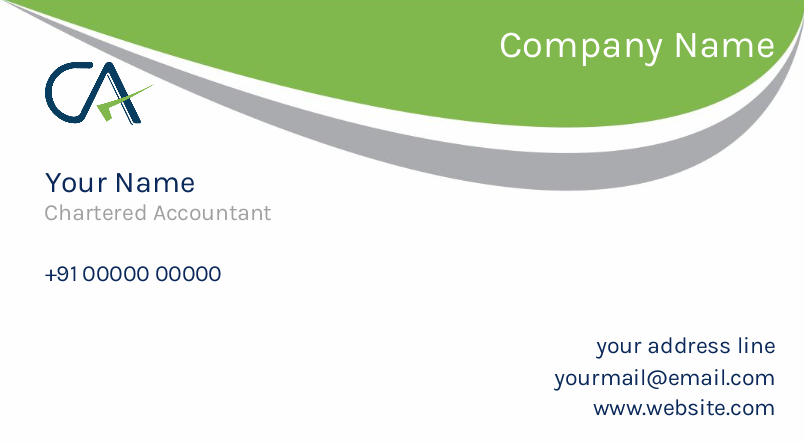 Simple CA Card